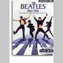 Play Guitar With... The Beatles 1962-1966~ Morceaux d'Accompagnement (Guitare, Tablature Guitare, Voix)