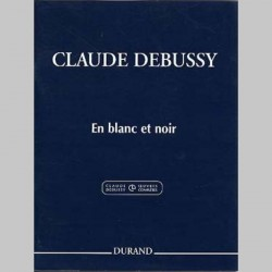 DEBUSSY: EN BLANC ET NOIR, 3 PIECES 2 Pianos 4 mains