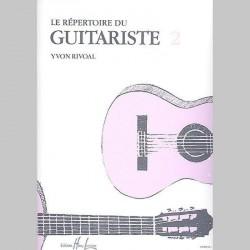Yvon Rivoal : Répertoire Du Guitariste Vol.2~ Partitions et Parties (Guitare)