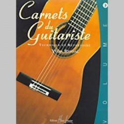 Yvon Rivoal : Carnets Du Guitariste Vol.3~ Étude (Guitare)