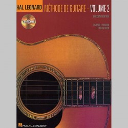 Hal Leonard Methode De Guitare Volume 2 (Deuxieme Edition Avec CD)