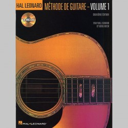 Hal Leonard Methode De Guitare Volume 1 (Deuxieme Edition Avec CD)