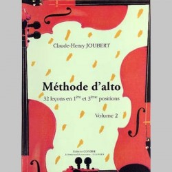 JOUBERT METHODE D'ALTO VOL. 2