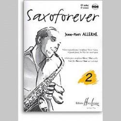 Jean-Marc Allerme : Saxoforever Vol.2~ Étude (Piano Solo, Saxophone)