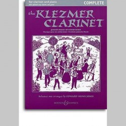 The Klezmer Clarinet~ Album Instrumental (Accompagnement Piano, Clarinette)