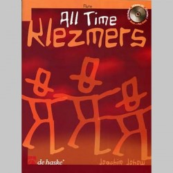 ALL TIME KLEZMERS FLUTE AVEC CD