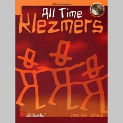 ALL TIME KLEZMERS SAXOPHONE AVEC CD