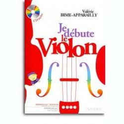 Valèrie Bime-Apparailly: Je Débute Le Violon~ Méthode Instrumentale (Violon)