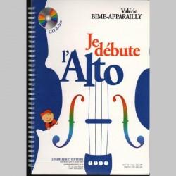 Valérie Bime-Apparailly -Je débute l'Alto - Méthode Instrumentale (ALTO)