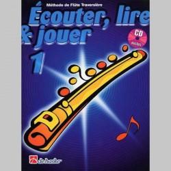 ECOUTER LIRE & JOUER METHODE + CD VOL 1 Flûte enseignement