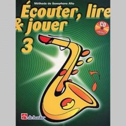 ECOUTER LIRE & JOUER METHODE+CD V3 ALTO Sax enseignement