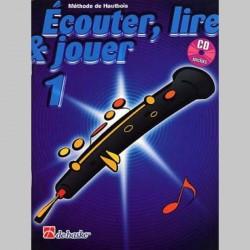 ECOUTER LIRE & JOUER METHODE + CD VOL 1 Hautbois enseignement