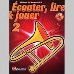 ECOUTER LIRE & JOUER CLE FA METHODE V 2 Trombone enseignement