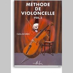 Odile Bourin : Méthode De Violoncelle Vol.2~ Étude (Violoncelle)