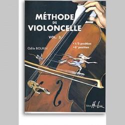 Odile Bourin : Méthode De Violoncelle Vol.3~ Étude (Violoncelle)