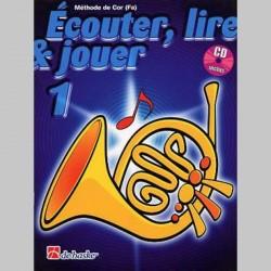 ECOUTER LIRE & JOUER METHODE + CD VOL 1 Cor enseignement
