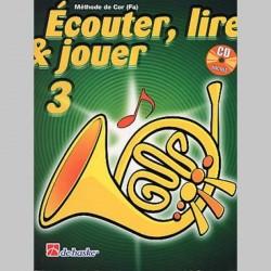 ECOUTER LIRE & JOUER METHODE + CD VOL 3 Cor enseignement