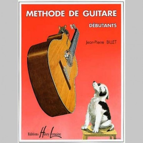 BILLET METHODE DEBUTANTS Guitare méthodes