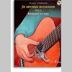Thierry Tisserand : Je Deviens Guitariste Vol.2~ Étude (Guitare)