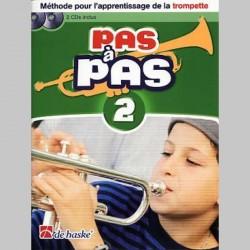 KASTELEIN PAS A PAS TROMPETTE 2 METHODE+CD