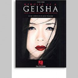 John Williams: Memoirs Of A Geisha~ Songbook d'Artiste (Piano Solo)