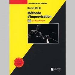 SOLAL METHODE D'IMPROVISATION AVEC CD