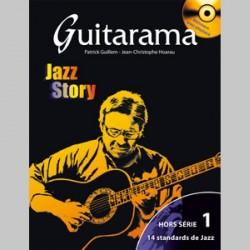 Guitarama Jazz Story Hors-Série 1 avec CD