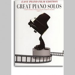 Great Piano Solos: Easy Piano Film Edition~ Album Instrumental (Piano Solo, Voix)