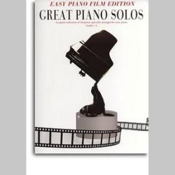 Great Piano Solos: Easy Piano Film Edition~ Album Instrumental (Piano Solo, Voix)