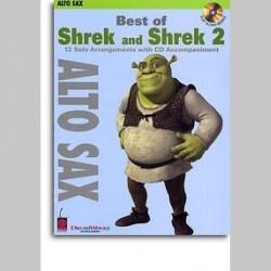 Best Of Shrek And Shrek 2 - Instrumental Solos (Alto Saxophone)~ Morceaux d'Accompagnement (Saxophone Alto)