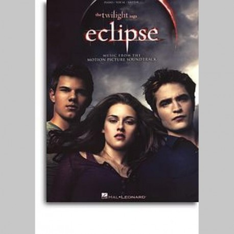 The Twilight Saga - Eclipse Soundtrack (PVG) ~ Songbook d'Album (Piano, Chant et Guitare)