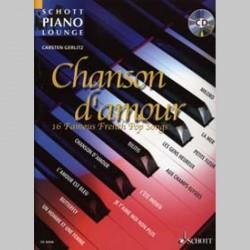 PIANO LOUNGE CHANSON D'AMOUR (Française) CD