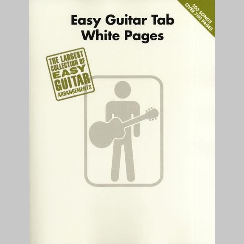 Easy Guitar Tab White Pages Album Instrumental Tablature Guitare