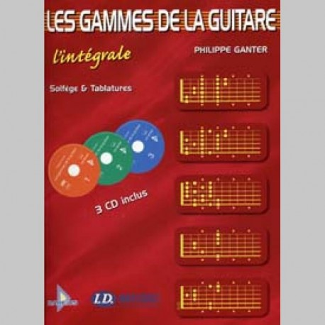 GAMMES GUITARE L'INTEGRALE 3CD