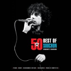 Alain Souchon: Best-Of 50 Titres ~ Songbook d'Artiste (Piano, Vocal & Guitar)