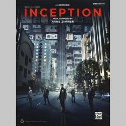 Hans Zimmer: Inception - Movie Selections ~ Songbook d'Album (Piano Solo)