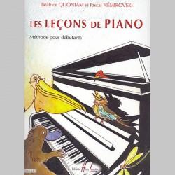 Béatrice Quoniam : Les Leçons De Piano ~ Méthode Instrumentale (Piano Solo)