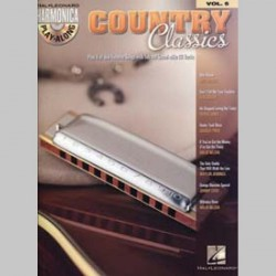 HARMONICA PLAY ALONG VOL.5 COUNTRY CLASSICS CD