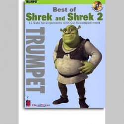 Best Of Shrek And Shrek 2 - Instrumental Solos (Trumpet)~ Morceaux d'Accompagnement (Trompette)