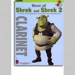 Best Of Shrek And Shrek 2 - Instrumental Solos (Clarinet)~ Morceaux d'Accompagnement (Clarinette)