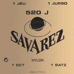 CORDES SAVAREZ JAUNE TIRANT FORT GUITARE CLASSIQUE