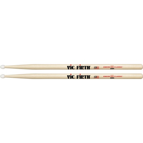 Baguettes VIC FIRTH 2BN OLIVE NYLON