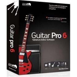LOGICIEL DE GUITARE GUITAR PRO6