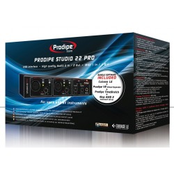 INTERFACE AUDIO PRODIPE STUDIO 22 PRO USB