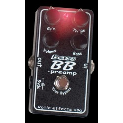 PEDALE OVERDRIVE POUR BASSE XOTIC BASS BB PREAMP