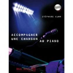Stéphane Kuhn: Accompagner Une Chanson Au Piano (Livre et CD)
