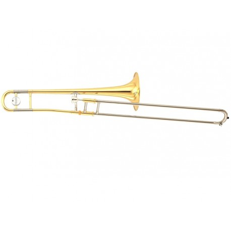 Trombone etude YAMAHA YSL 354 PAV JAUNE/VERNI