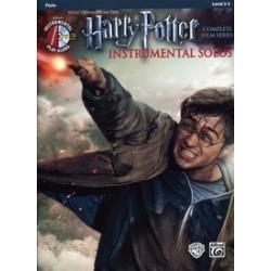HARRY POTTER INSTRUMENTAL SOLOS COMPLETE FILM SERIES FLUTE CD