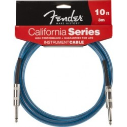 FENDER CALIFORNIA 3M LAKE PLACID BLUE