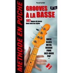 Méthode en poche Grooves à la basse Pascal Sarfati